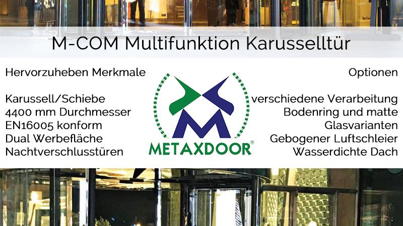 m-com multifunktion karusseltuer